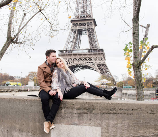 The capital of romance - Paris