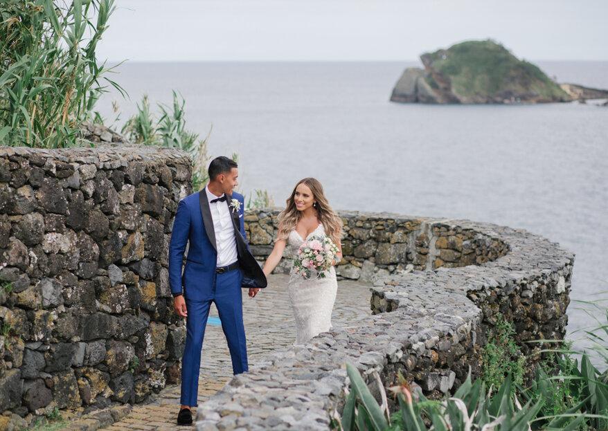 Amabiance Wedding Azores: A romantic destination wedding in a pocket of paradise