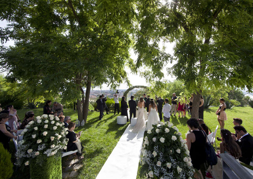 """Villa Andrea di Isernia: because celebrating ritual and reception in the same location is """"good and right"""""""