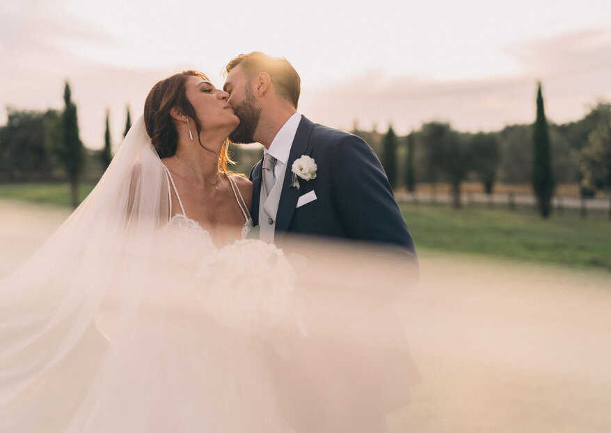 """The """"substance of dreams"""" on Andrea and Silvia's big day"""
