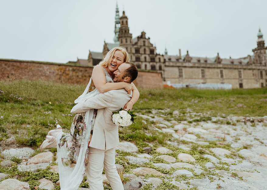 Discover Scandinavian Beauty With This Adventurous Way Of Getting Married