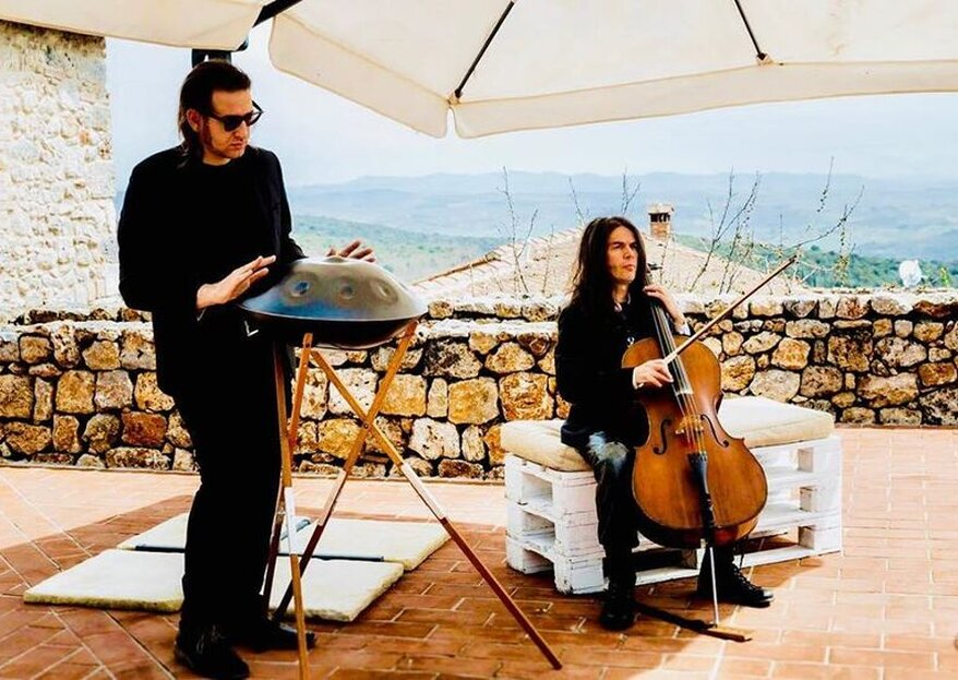 Davide Friello Music For Handpan: The Musician Who Cannot Miss Your Wedding