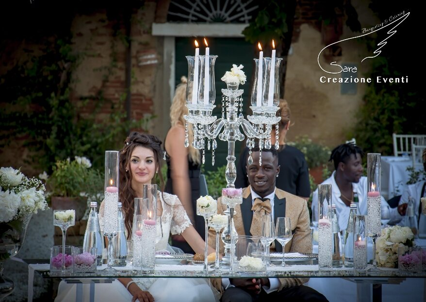 A Love Written In The Stars: Margherita and Ousmane's Wedding