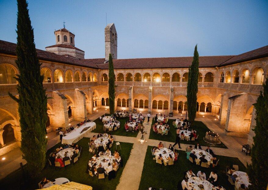 The Castilla Termal Monastery of Valbuena: A Luxurious Destination Wedding Venue