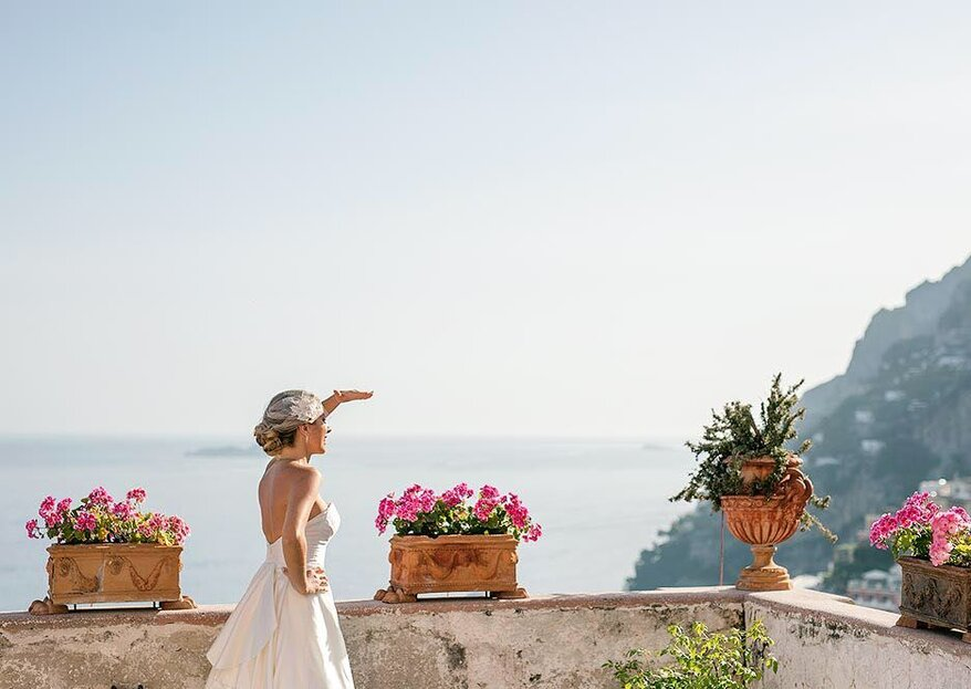 Destination wedding South of Italy: a Mediterranean and dream-like wedding with Med in Style