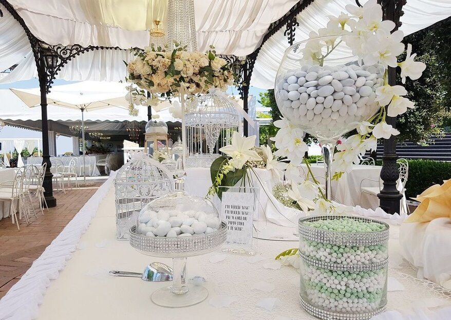 Rely on the centenary experience of Crispo Confetti, for a memory of your wedding to be savored with sweetness