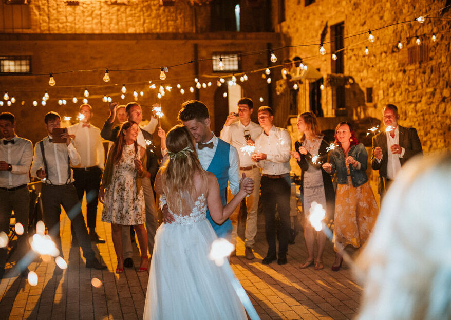 Simplicity Inspired By Olive Trees And Roses: The Wedding of Nadine & Henrik In Tuscany
