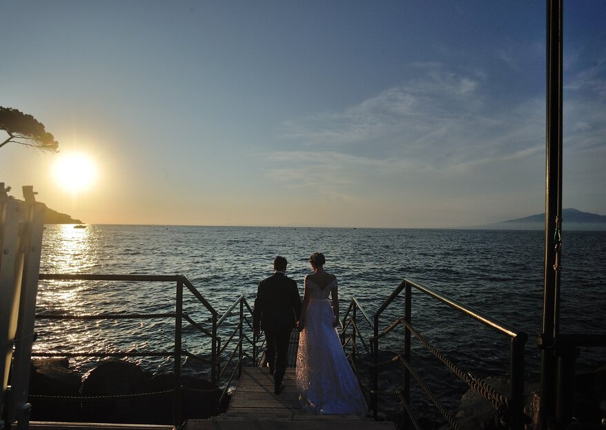 """""""Time passes but you will never leave"""": The Wedding of Lilla and Angelo"""