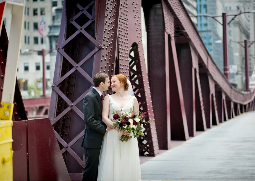 Steve and Janie's Romantic Winery Wedding in Chicago
