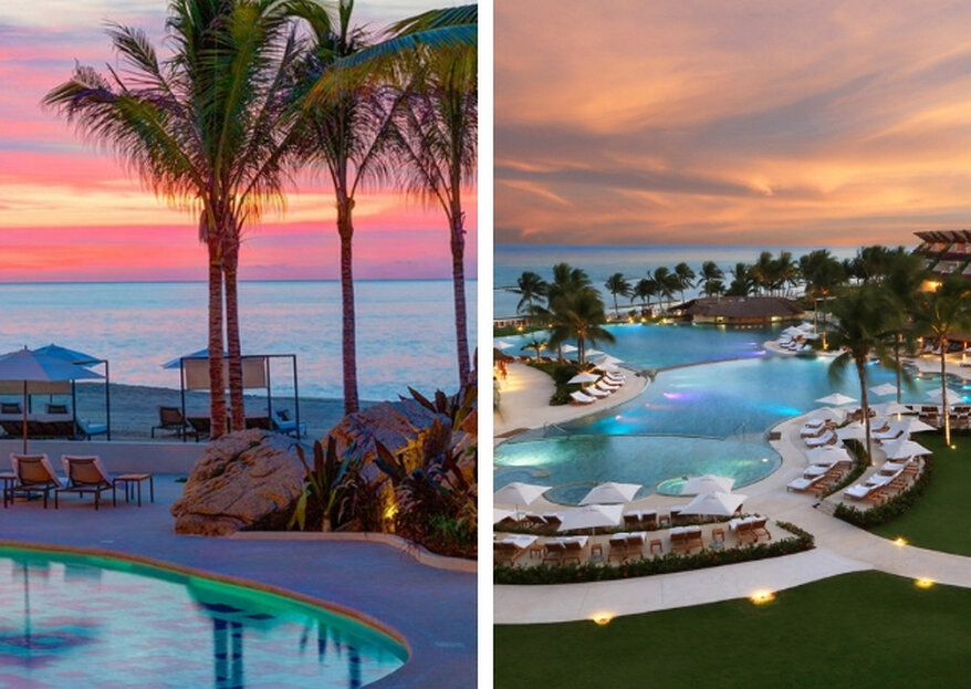 Destination wedding in Mexico? Here are six amazing hotel resorts to choose from