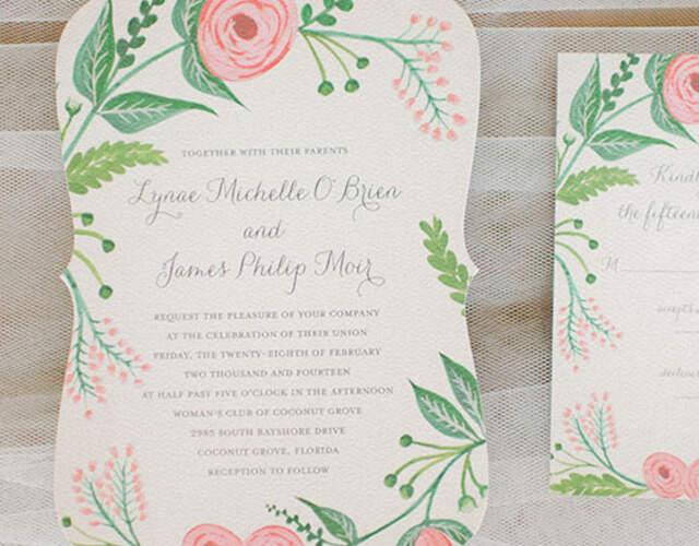 Wedding Invitations & Stationery online